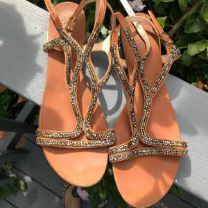 Vince Camuto sparkly sandals